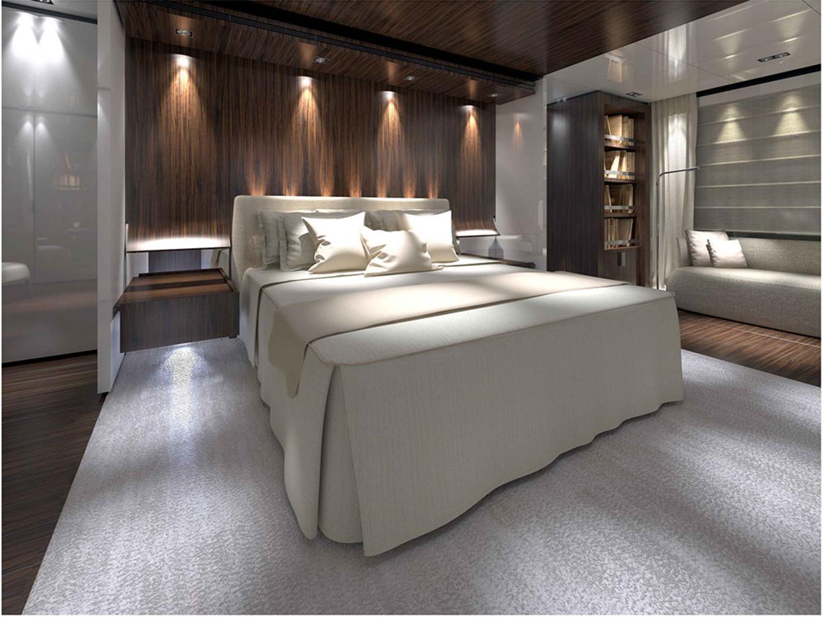Baglietto 46M Fast - Owner cabin