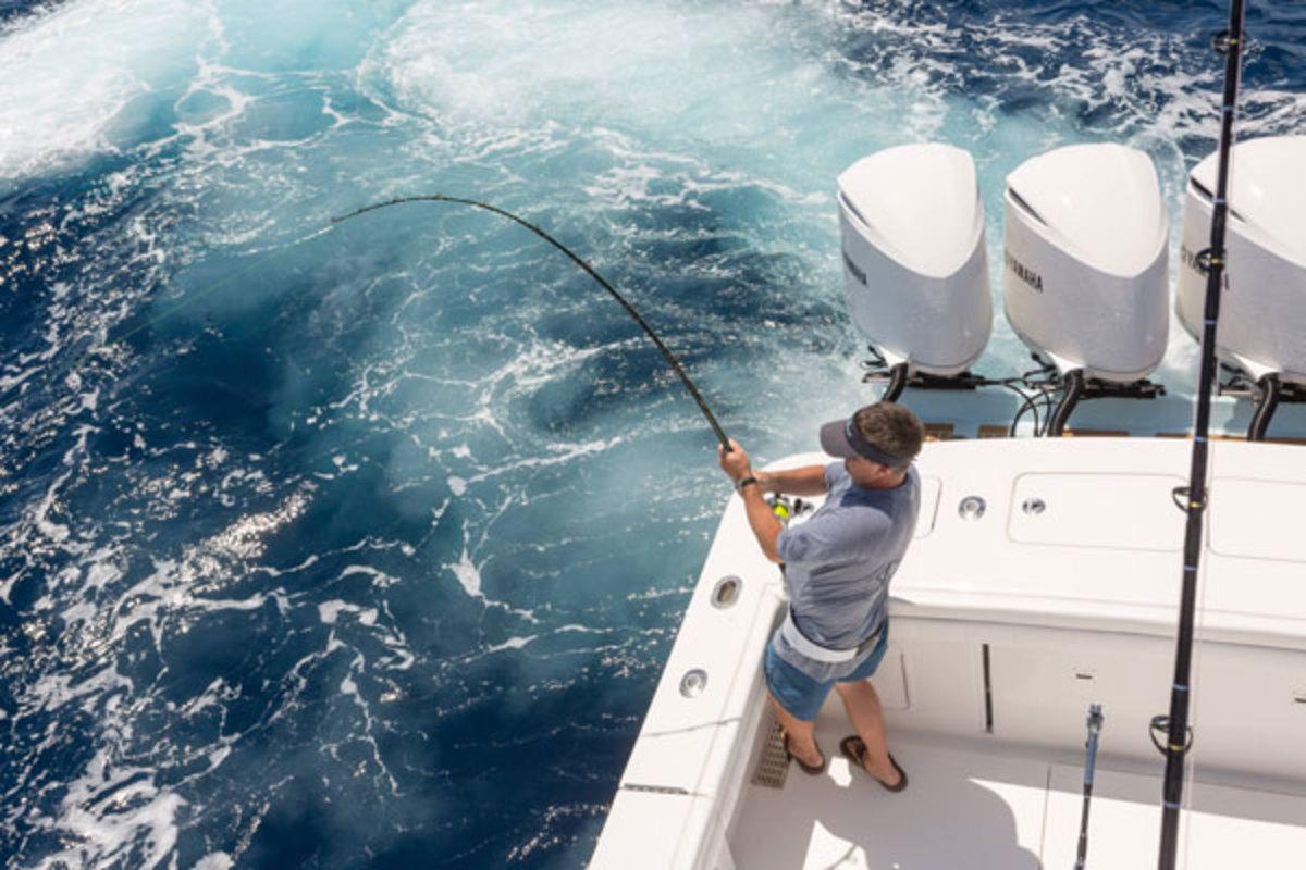 Fishing on a Regulator 40