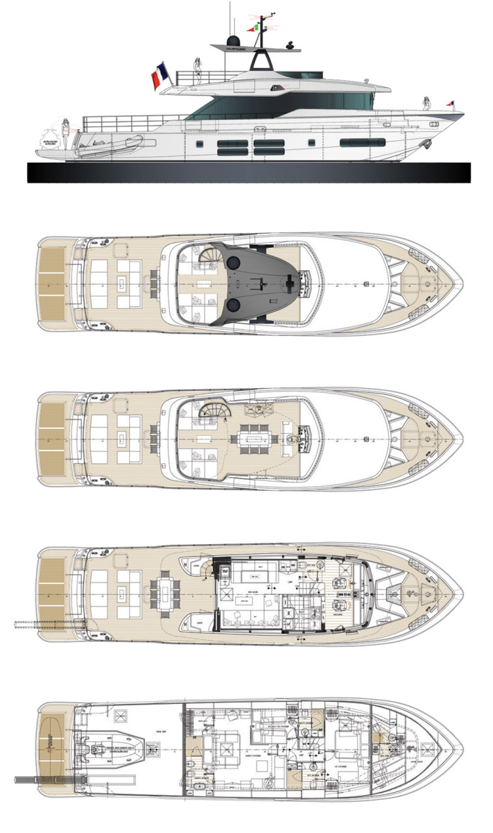 Canados Oceanic 76 Layout Diagram