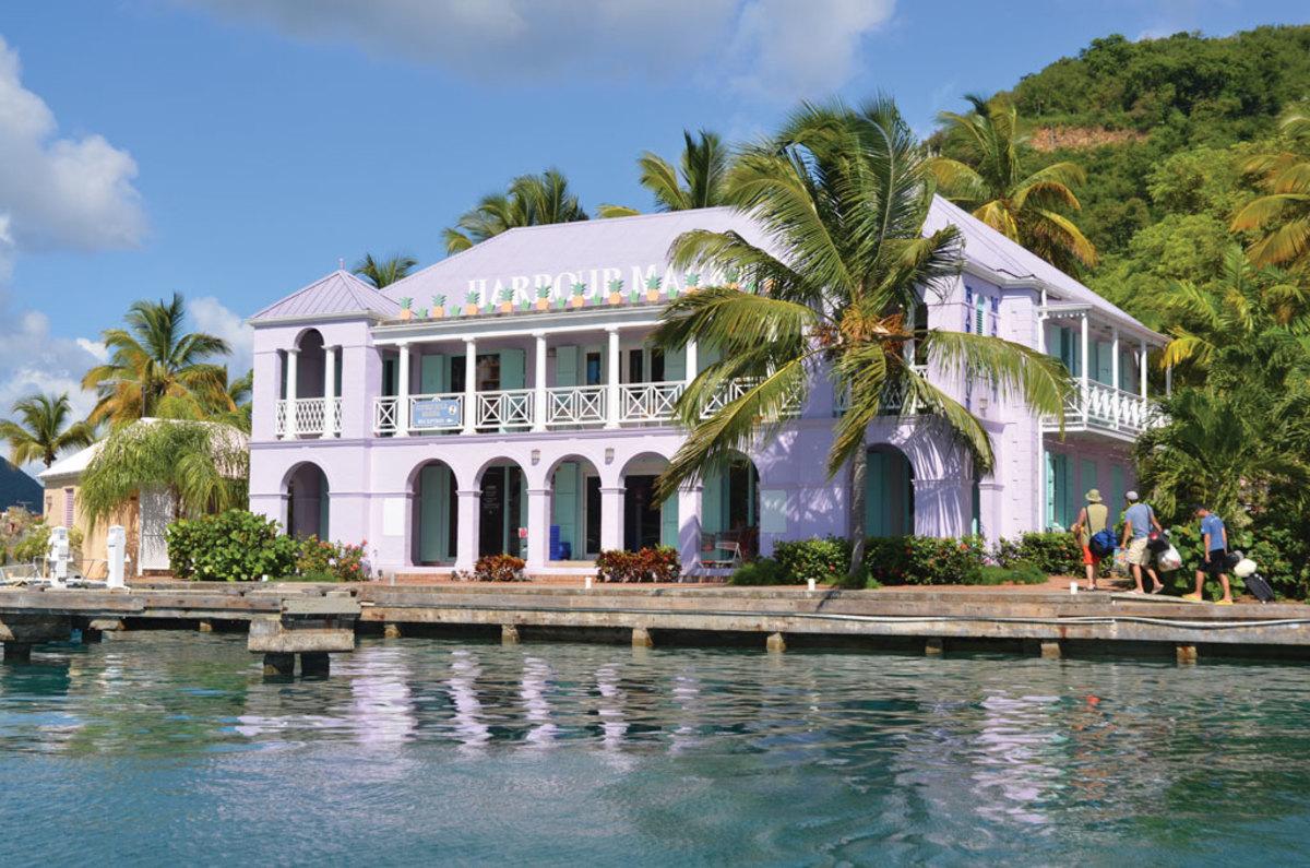 Soper's Hole in Tortola