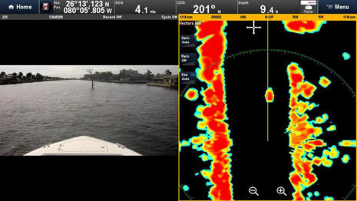 Raymarine Quantum radome 16 nautical mile range cPanbo
