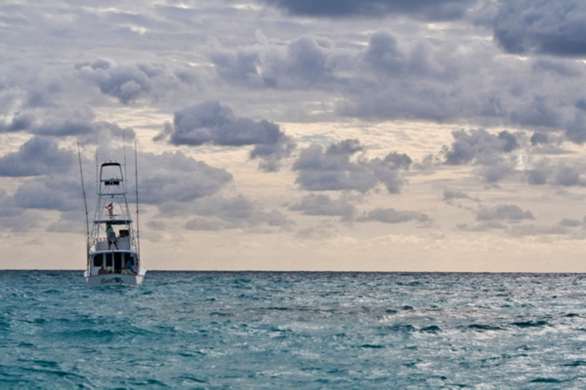 Fishing boat in Islamorada