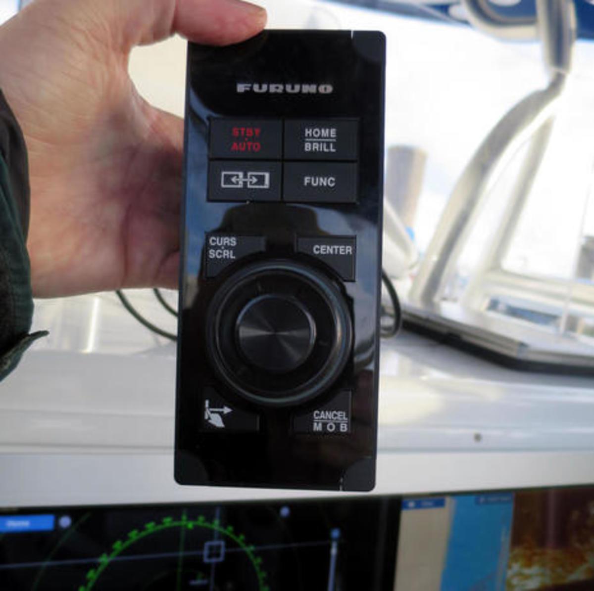 Furuno MCU004 remote TZTouch keypad