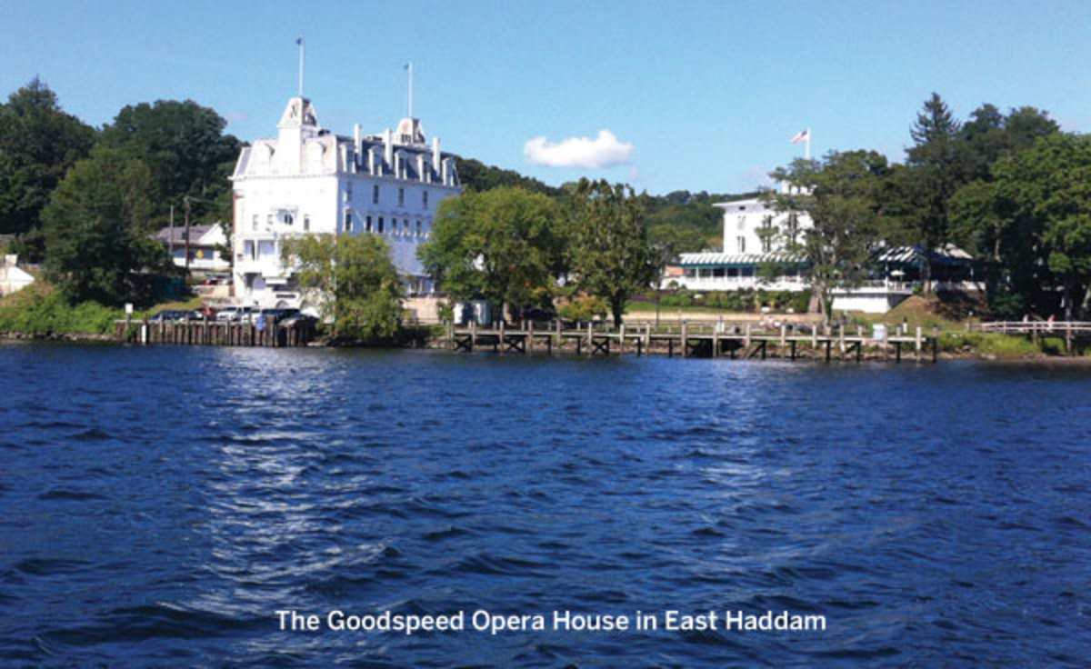 The Goodspeed Opera House in East Haddam