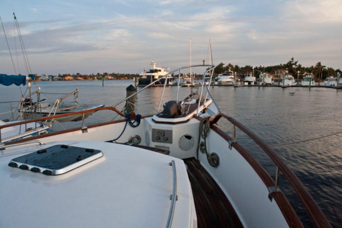 Arawak cruising into Naples FL