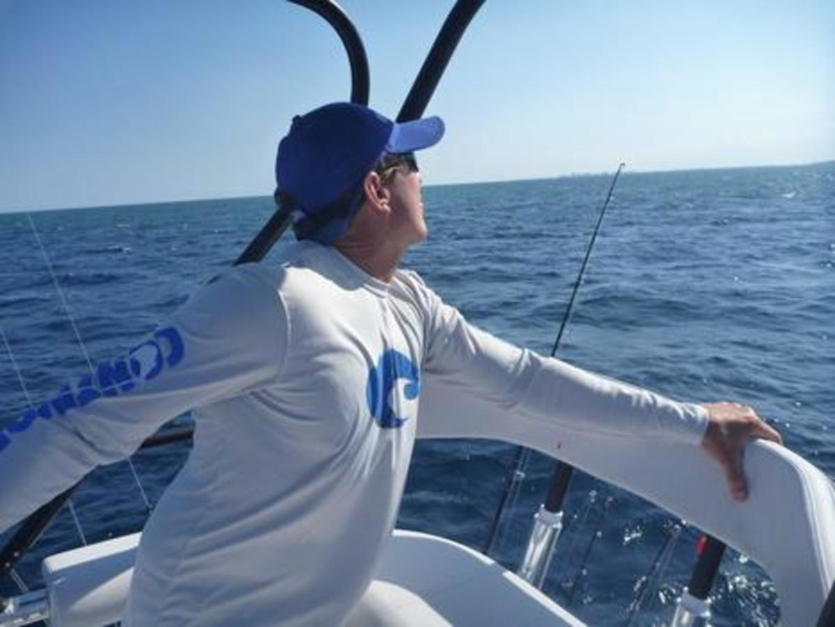 Jon Cooper Spotting Sailfish