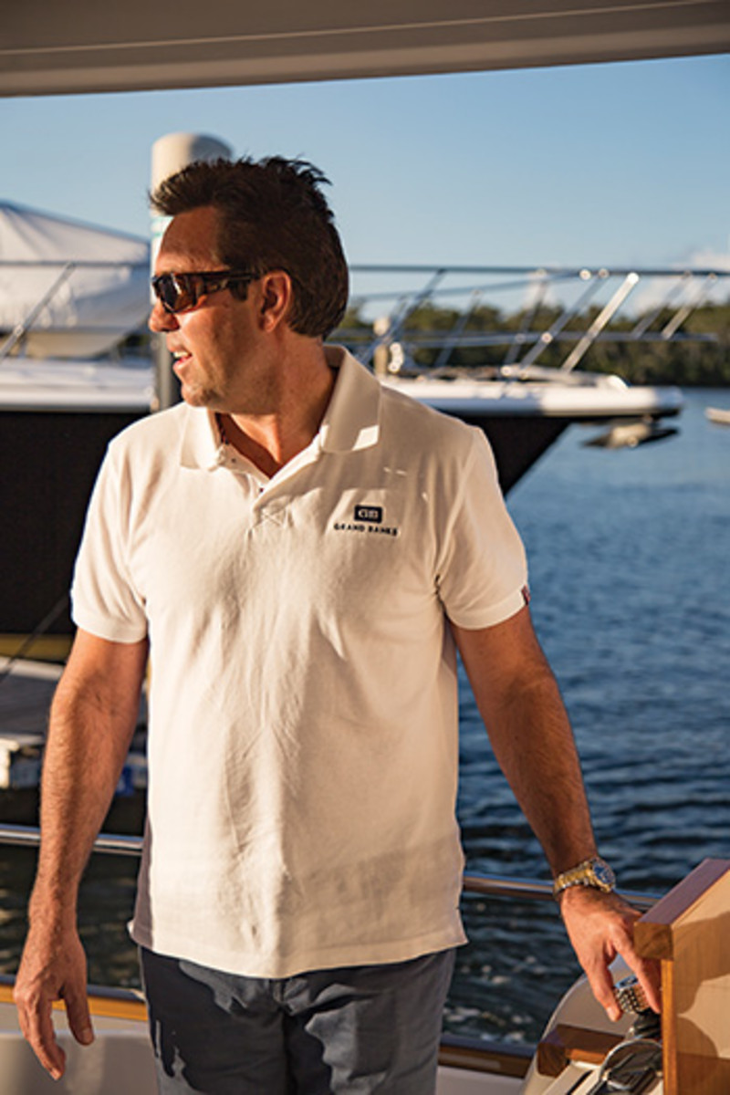 Palm Beach Motor Yachts founder Mark Richards