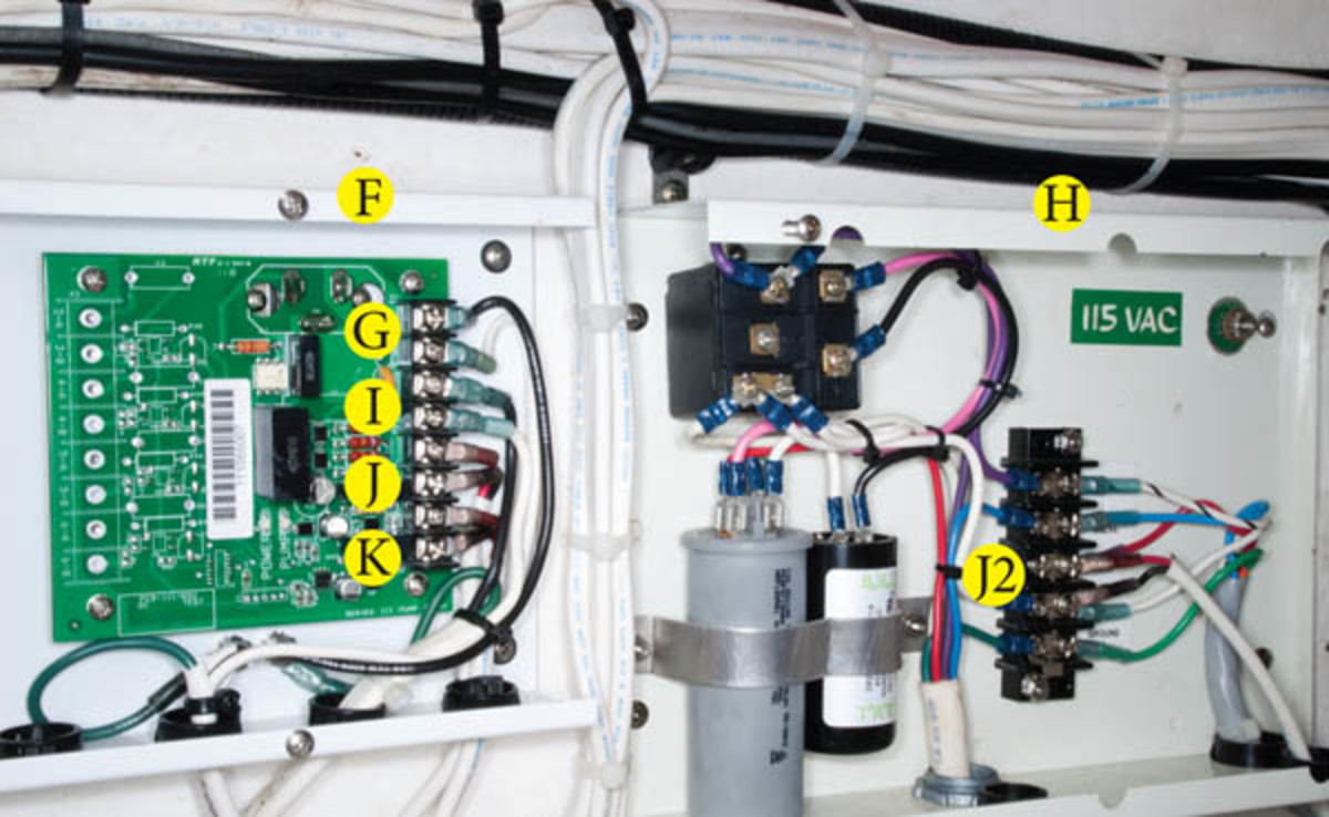 Add An Air Conditioner To Your Boat Page 2 Power Motoryacht Electrical Wiring How Install On Photo