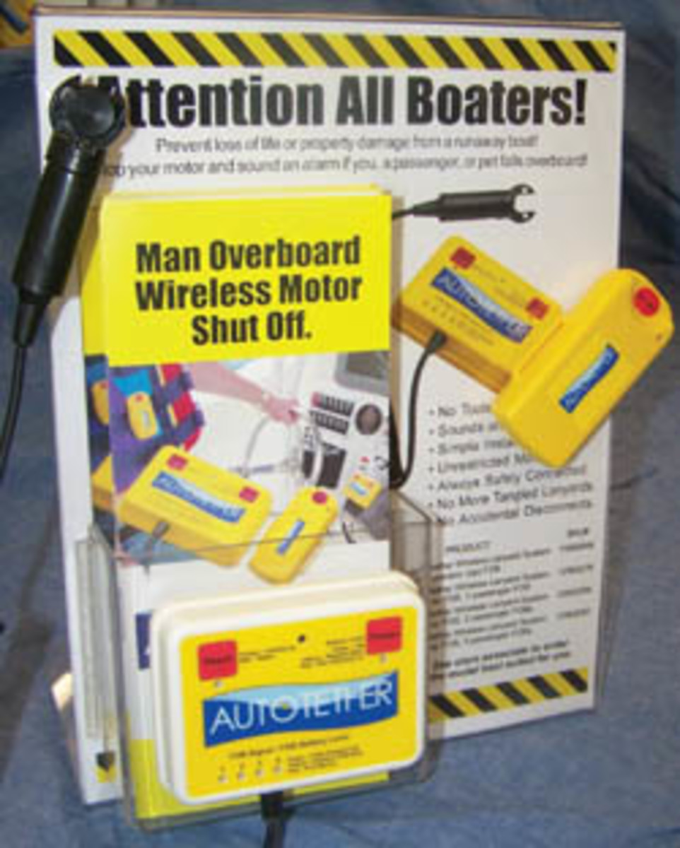 The Autotether wireless emergency shut-off lanyard