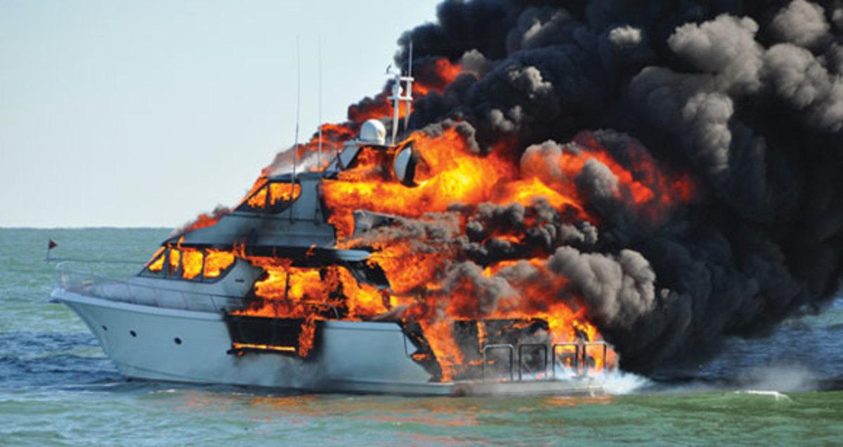 Boatfire Prmjpg Promo Image on Volvo Boat Engine