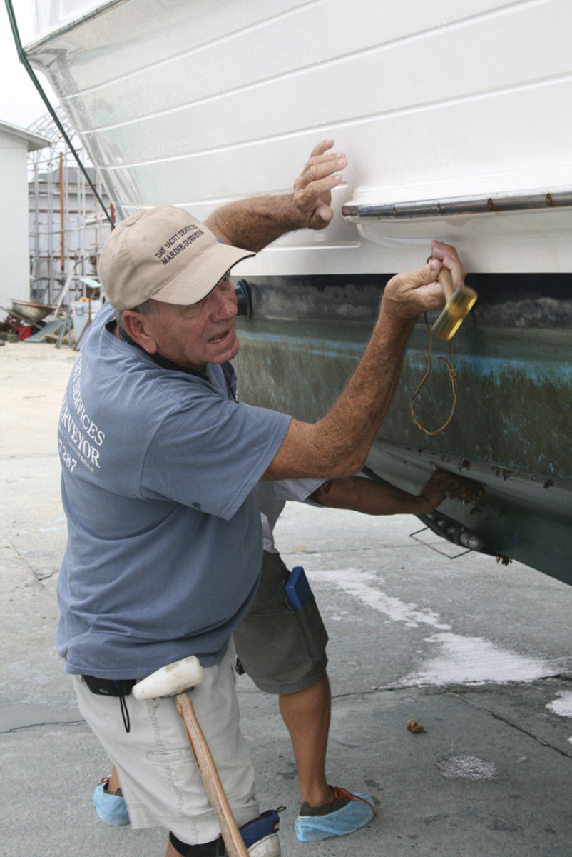 John Day of Day Yacht Services, based in Morehead City, North Carolina