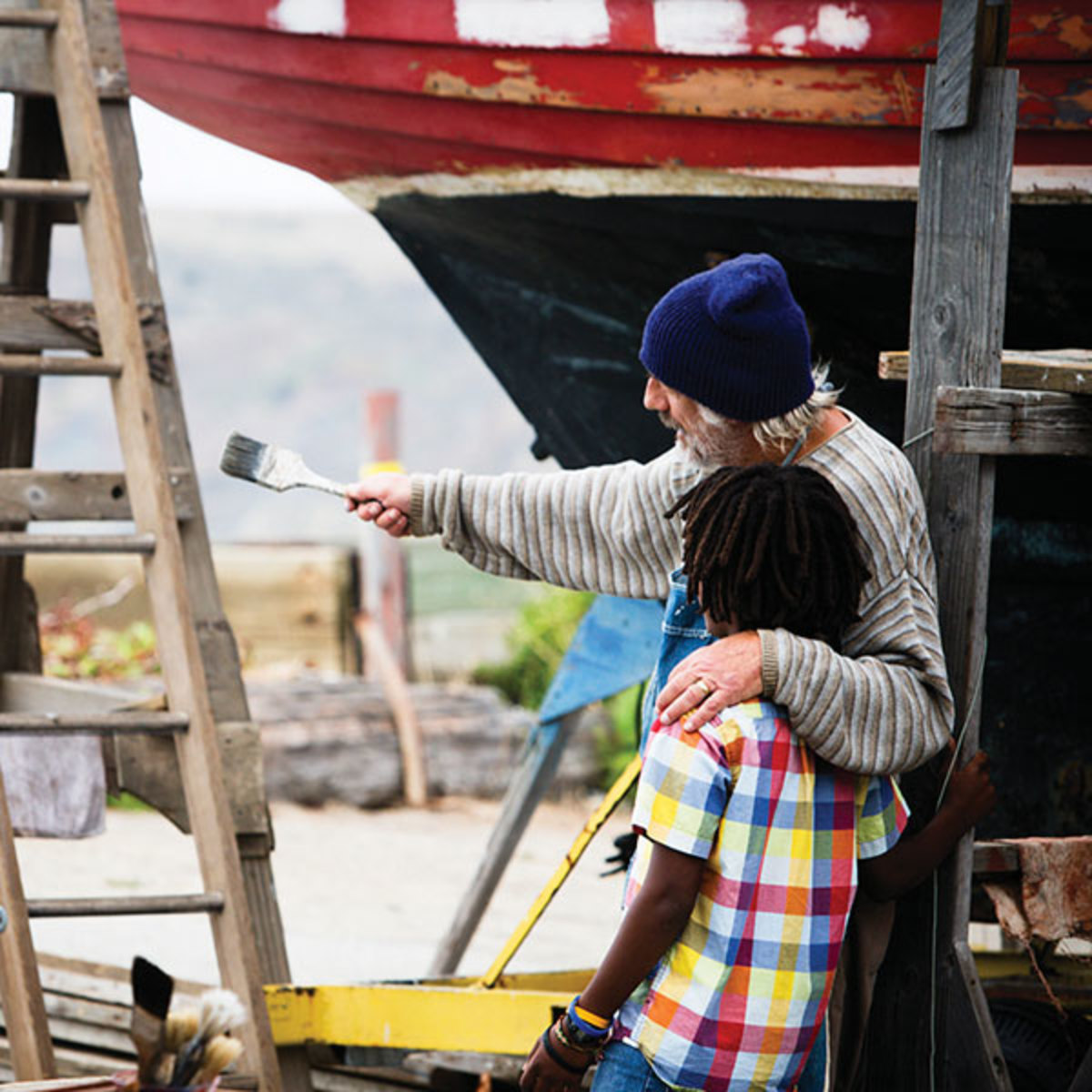 Scene from The Boat Builder