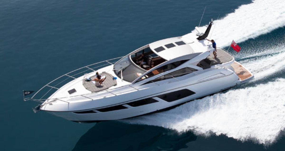 Sunseeker Predator Promojpg Promo Image on Volvo Boat Engine