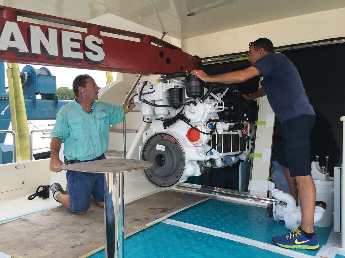 New engines often lie at the heart of a solid refit.