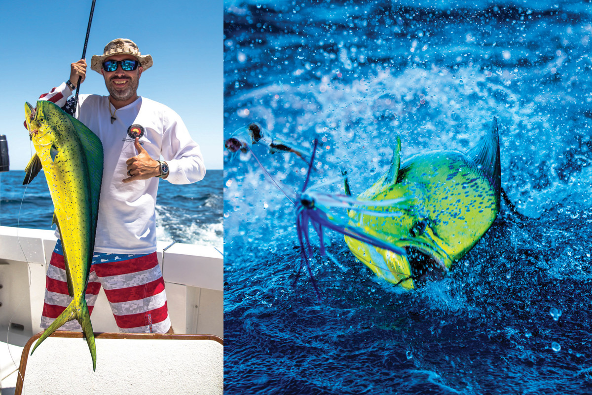 Operation WetVet founder Ozzie Martinez nabs a mahi