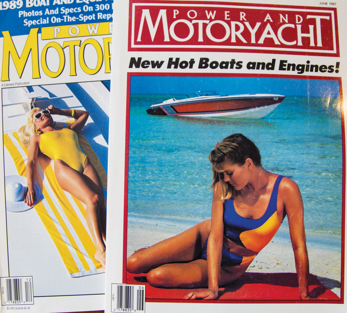 Old Power & Motoryacht covers