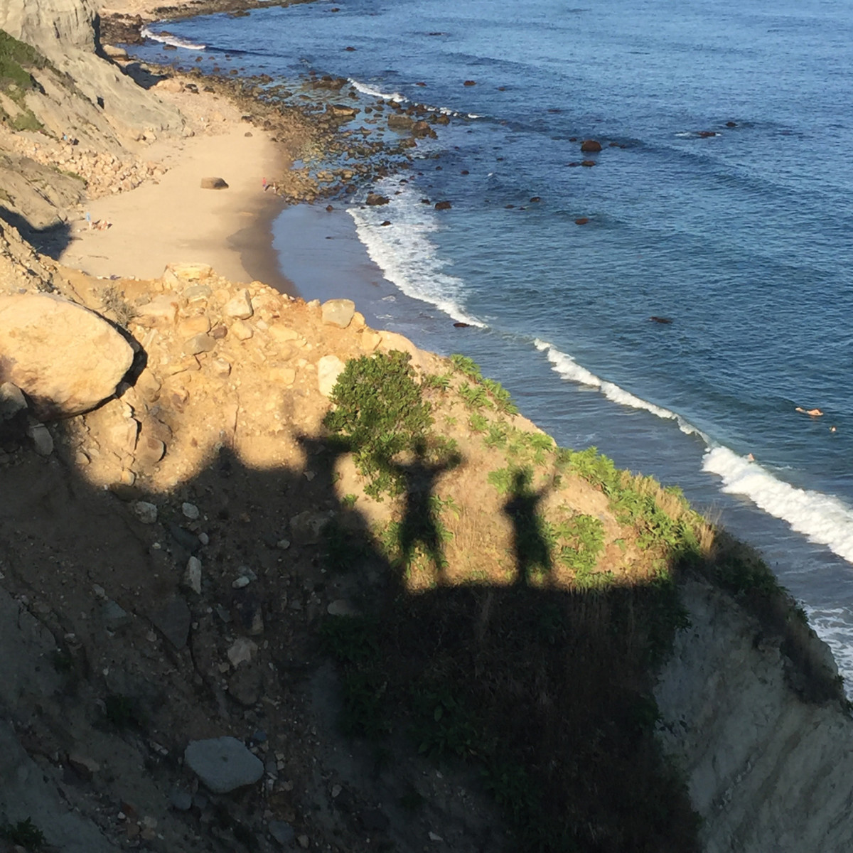 Shadows on Block Island