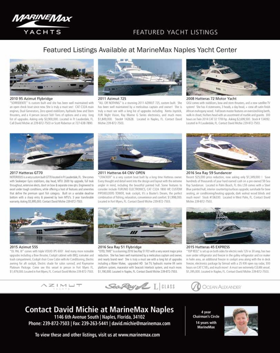 February 2018 Select Brokerage - Power & Motoryacht