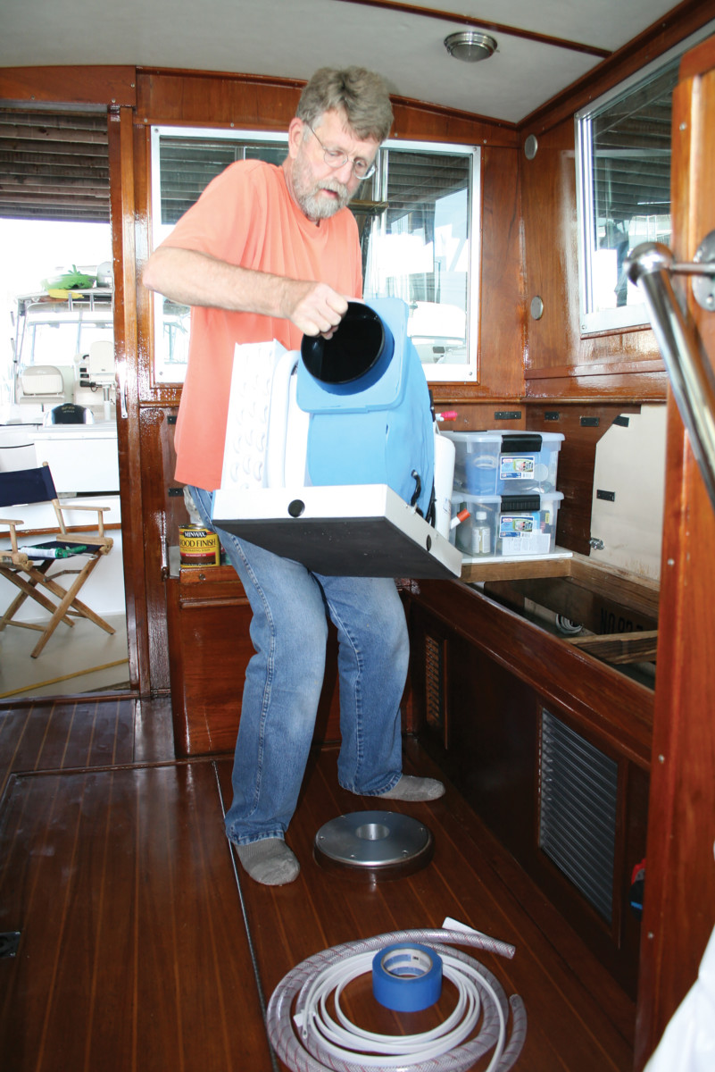 Capt. Bill's Aqua-Air replacement weighs just 68 pounds!
