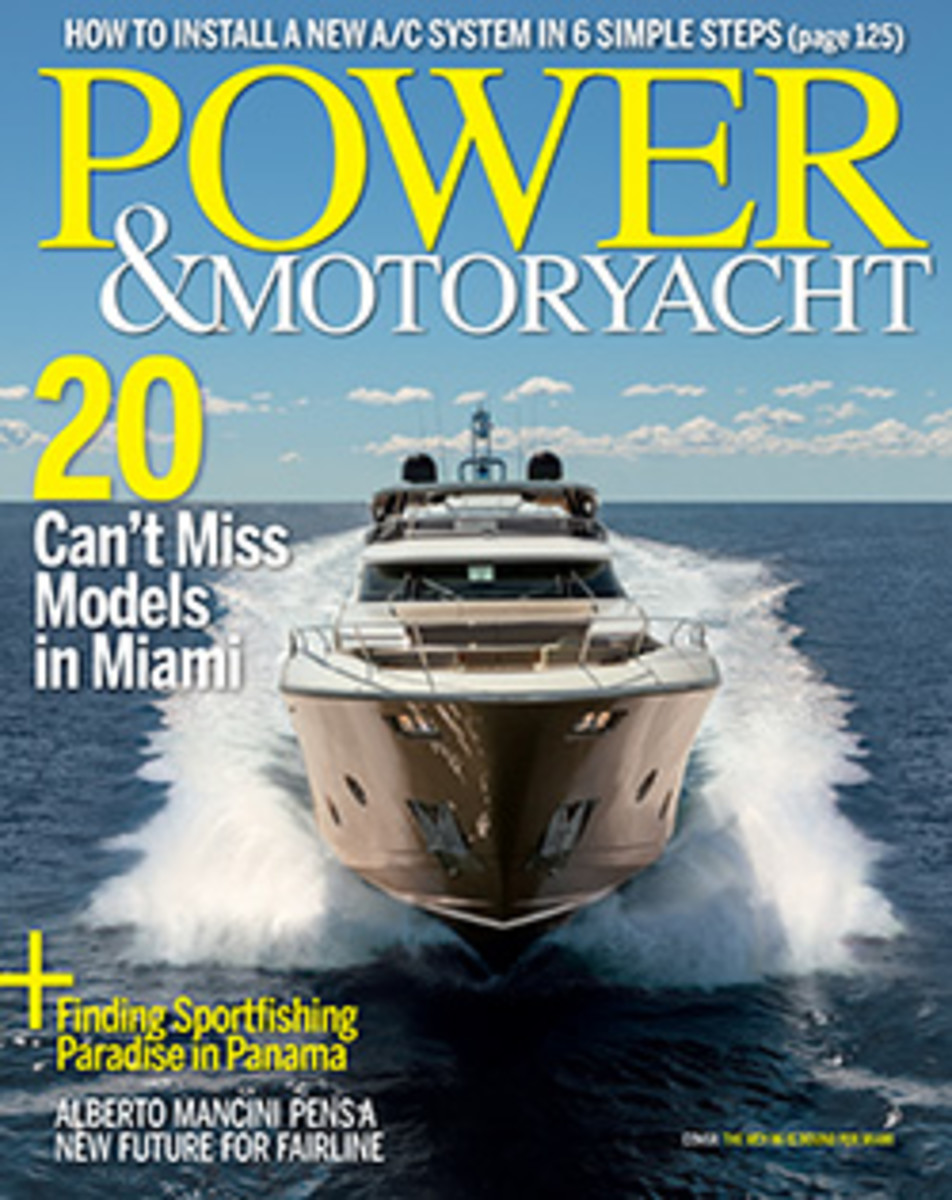 Power & Motoryacht - February 2018 Cover
