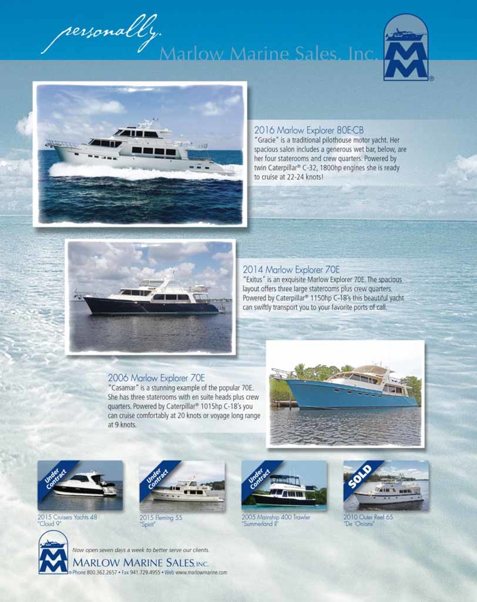 March 2018 Select Brokerage - Power & Motoryacht