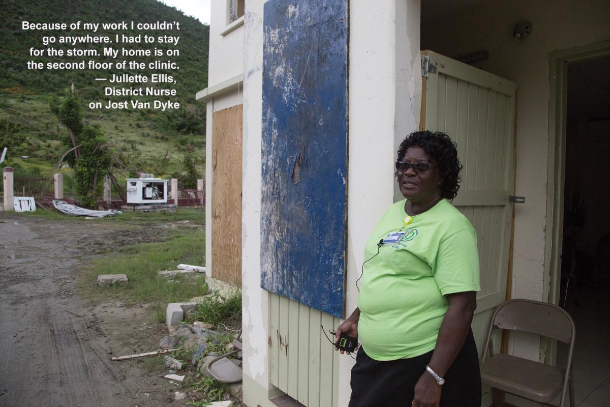 Jullette Ellis, District Nurse on Jost Van Dyke