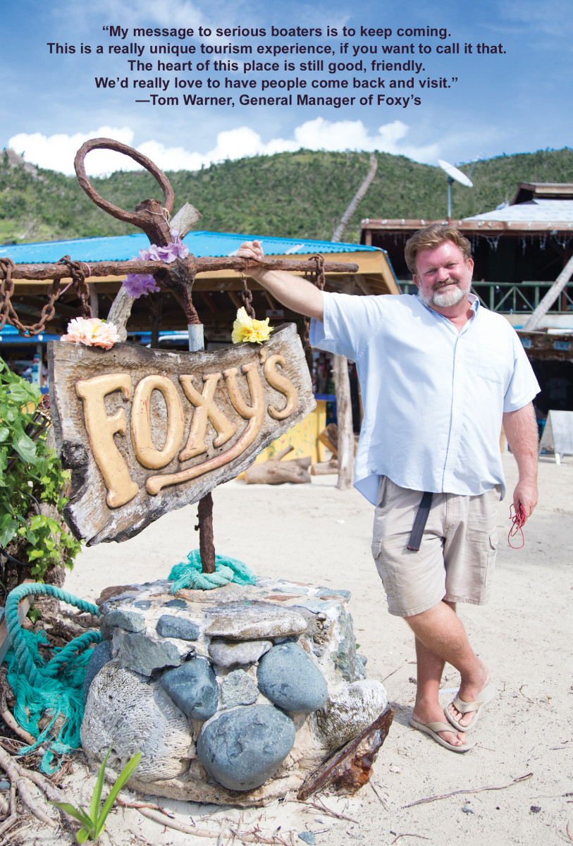 Tom Warner, General Manager of Foxy's