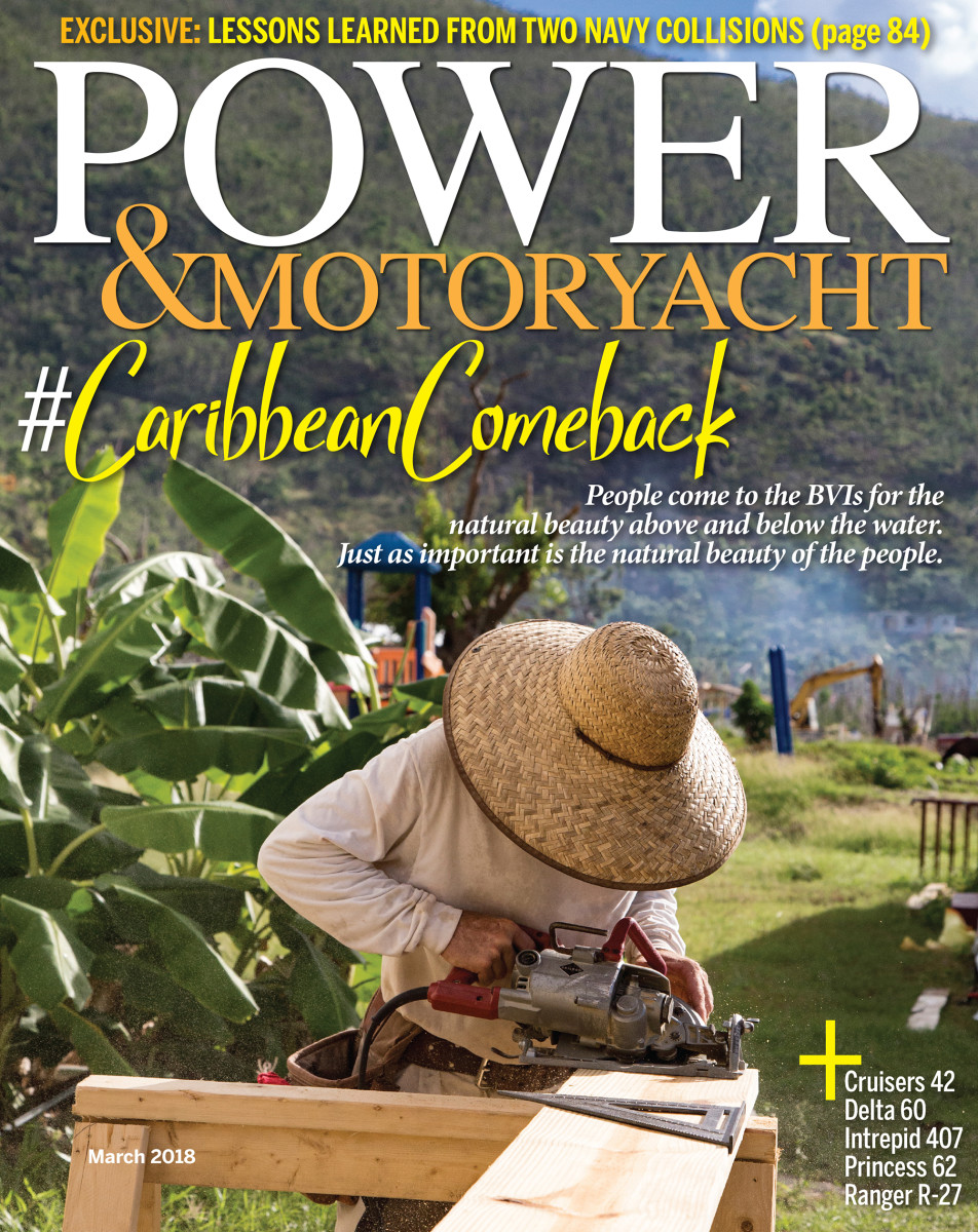 Power & Motoryacht March 2018 cover