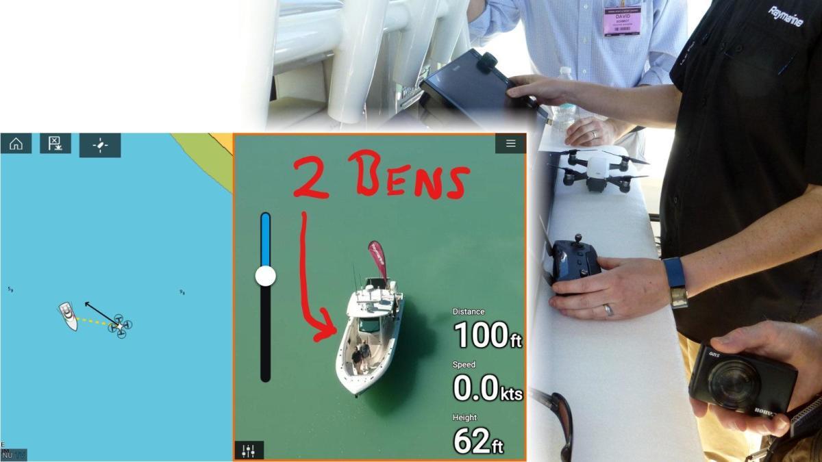 04-Raymarine_Axiom_DJI_Spark_drone_control_demo__cPanbo