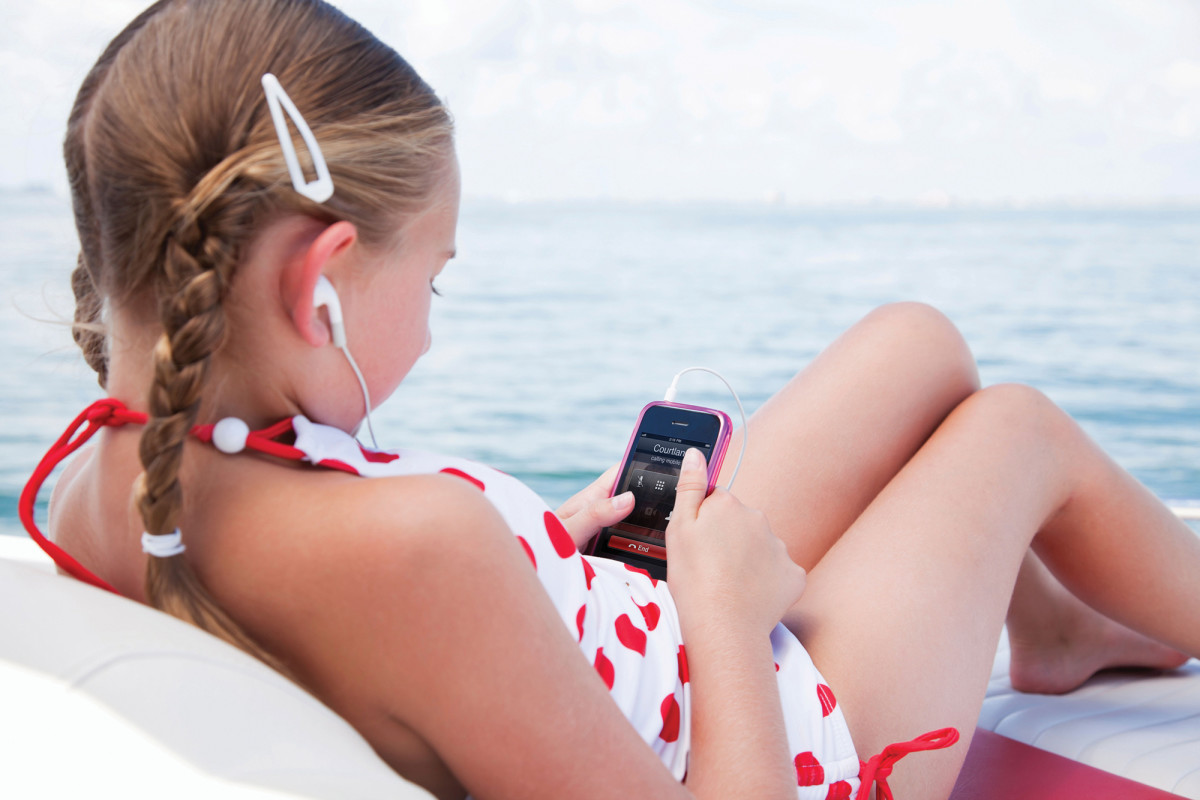 The LTE-1 allows music streaming and communication services like FaceTime to be accessed while well offshore.