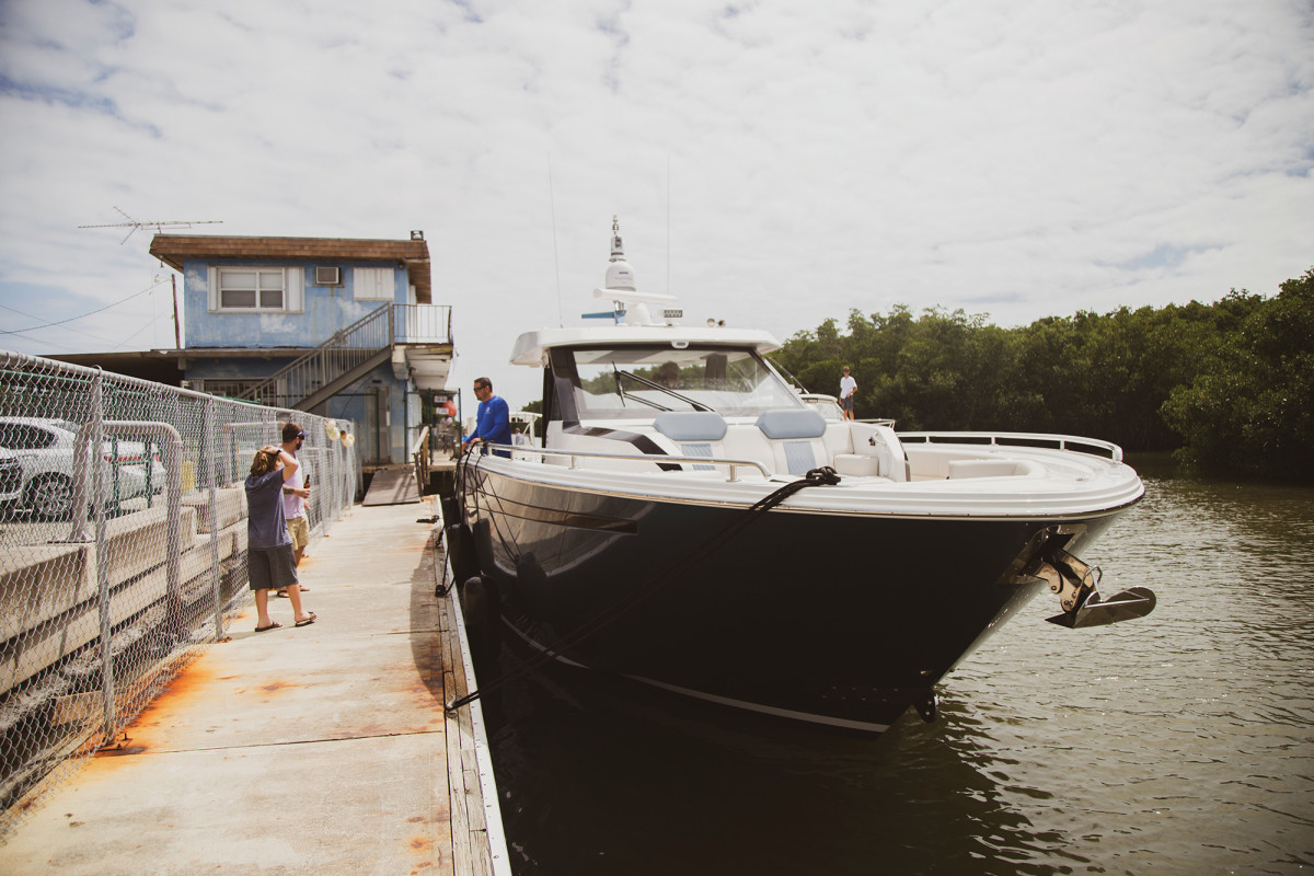 From OA owners signed up for rides at the Ocean Reef Club to Bud-drinking boaters at a biker bar, the 45 Divergence draws an eclectic crowd.