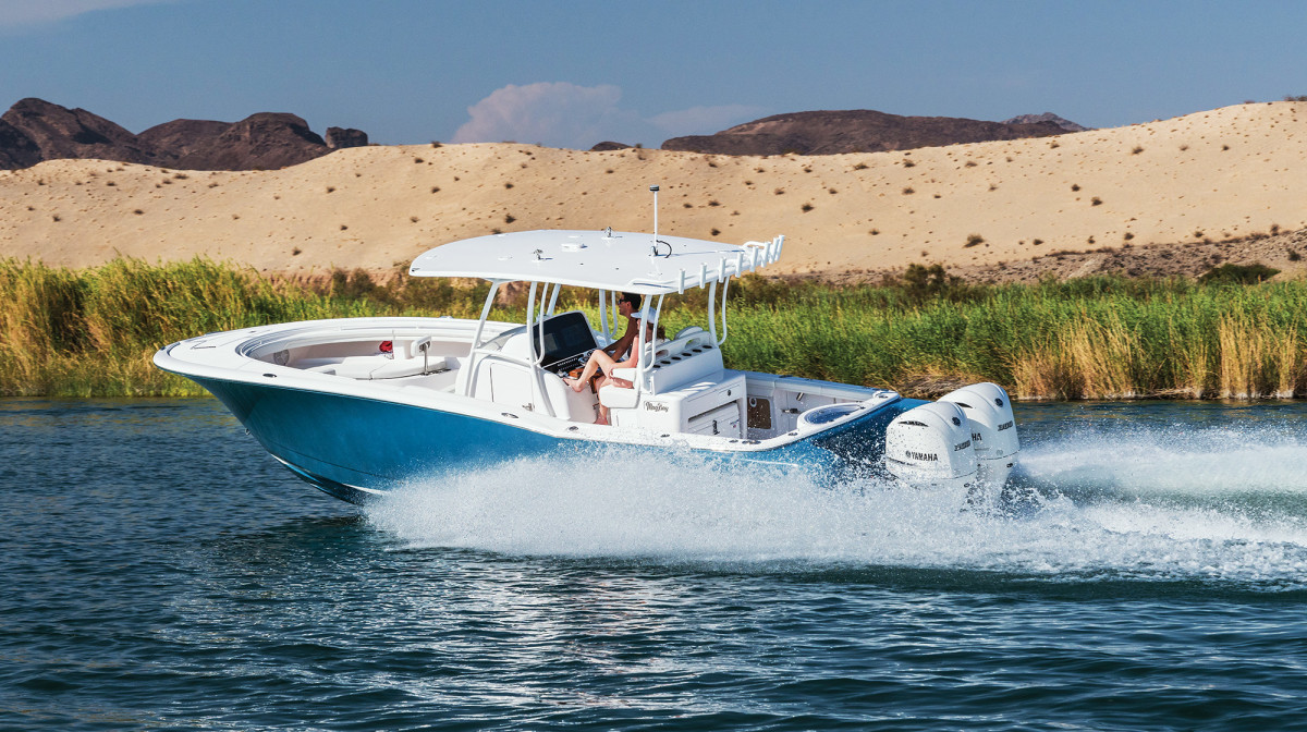 For a saltwater-bred beast, the 33 eats up the Colorado River.