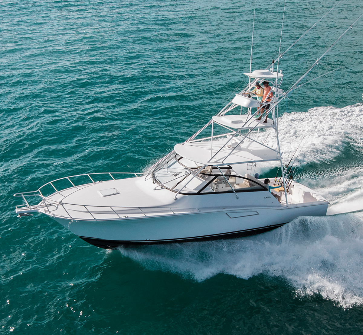 Cabo Yachts 41