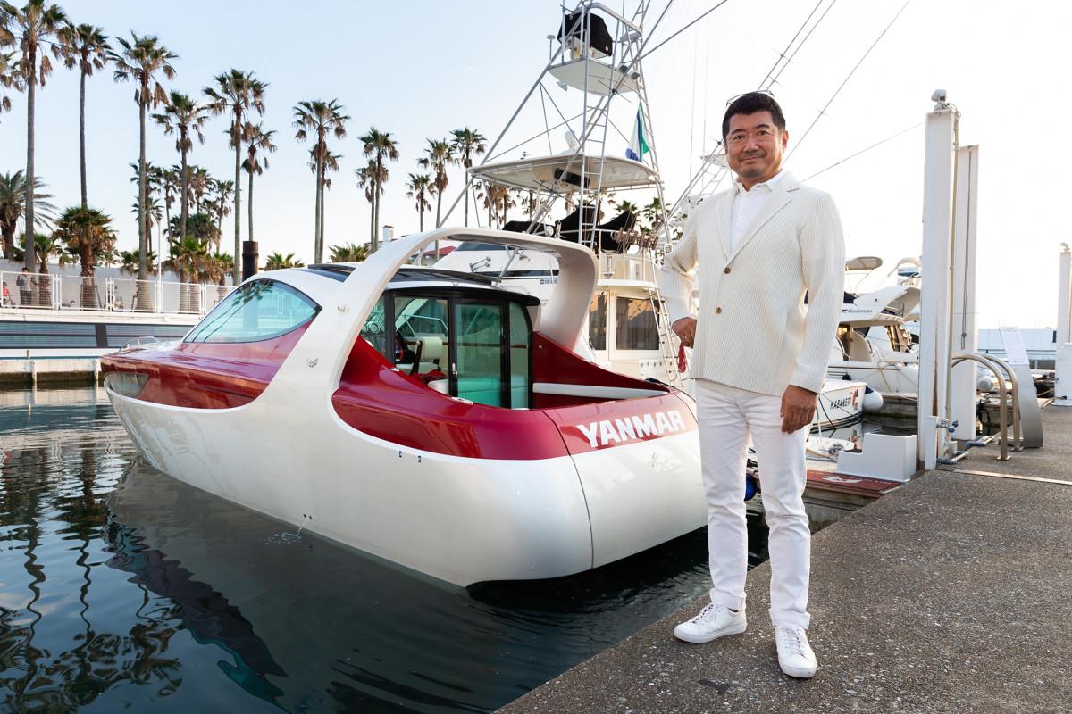 Yanmar X47 Express Cruiser designer Ken Okuyama