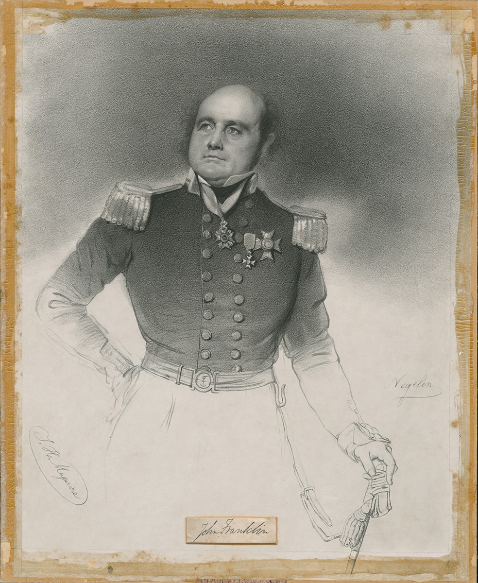 Sir John Franklin, the Arctic explorer who died trying to find the Northwest Passage in 1847.