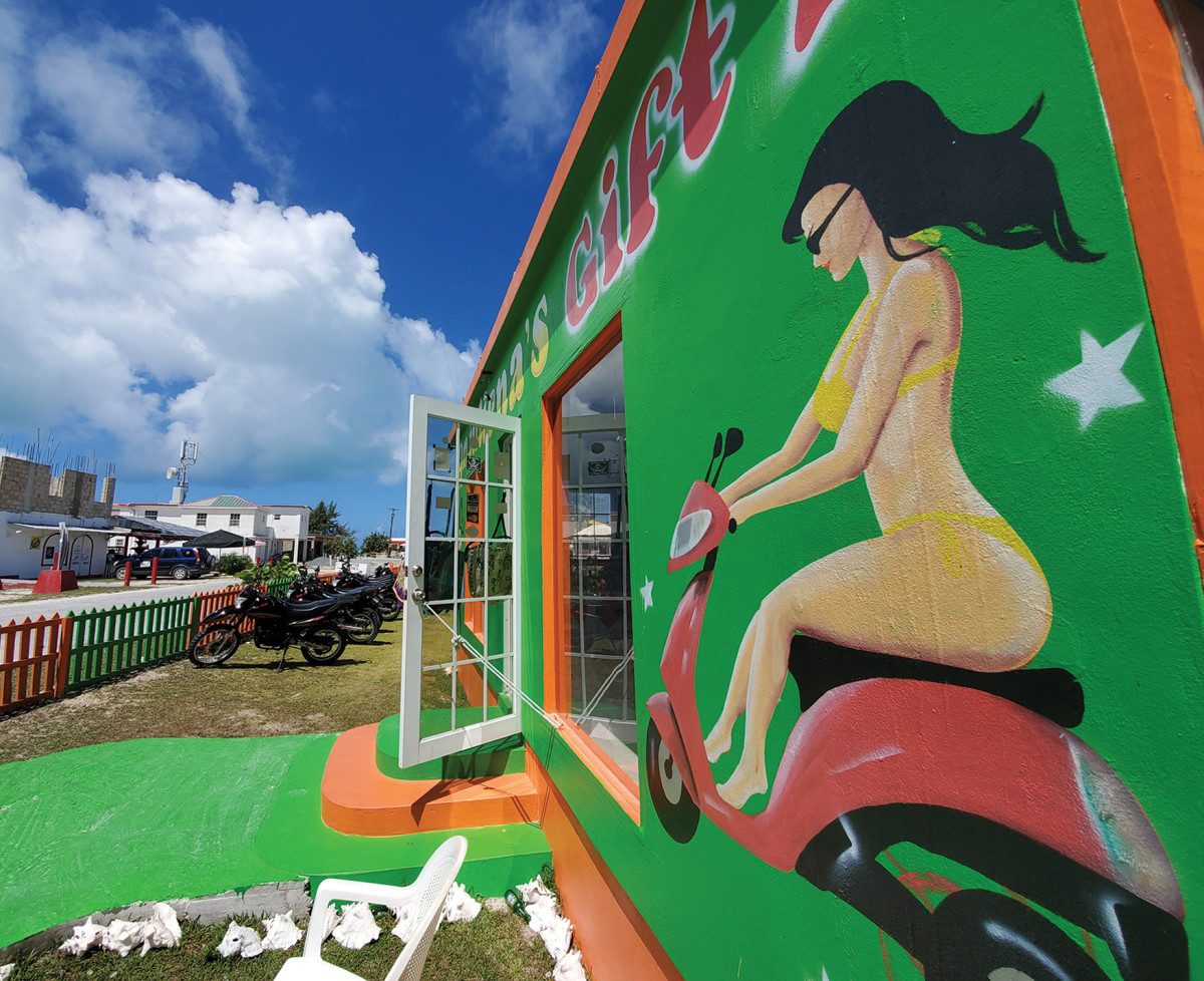 Anegada Scooter rental