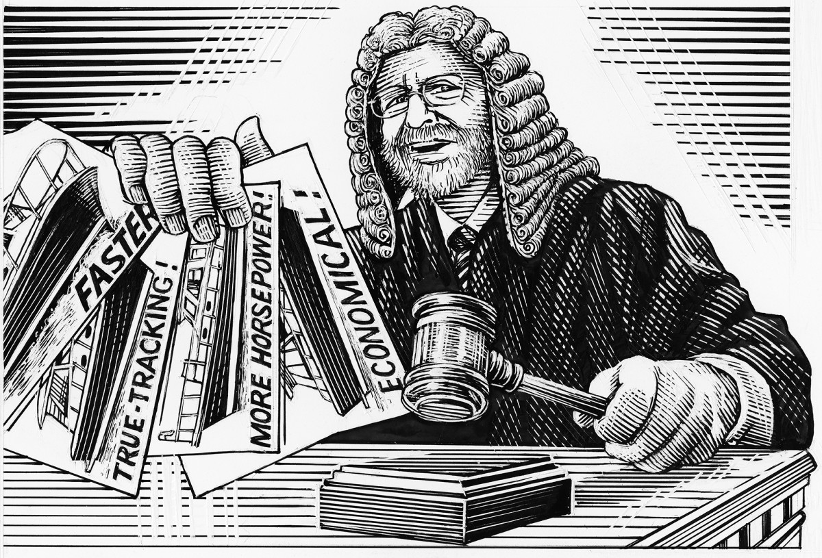 Judge Not-illustration