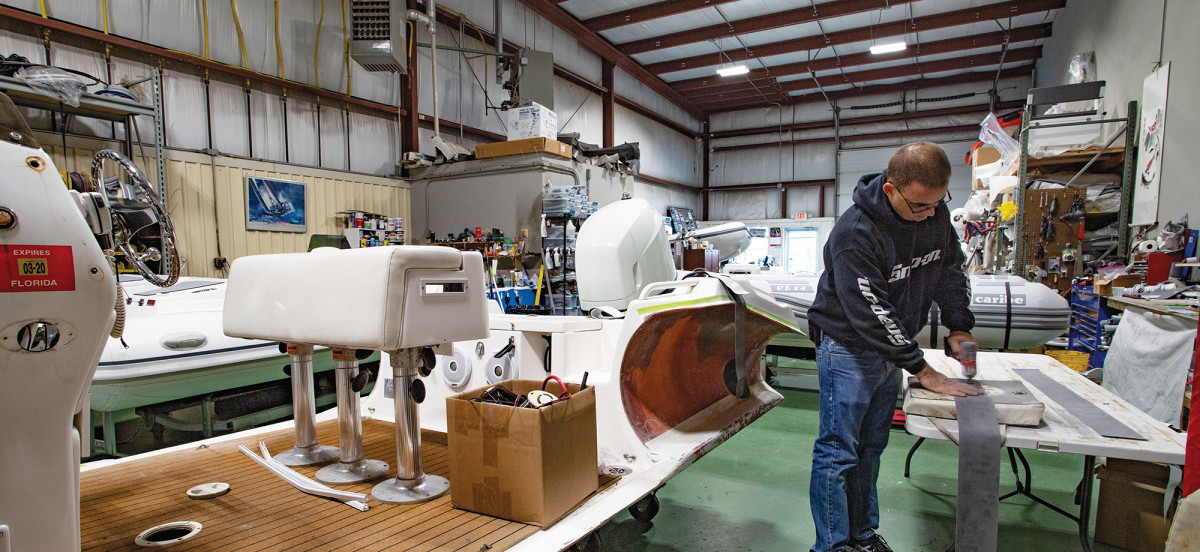 The team at DinghyPro boasts 60-plus years of repair experience.