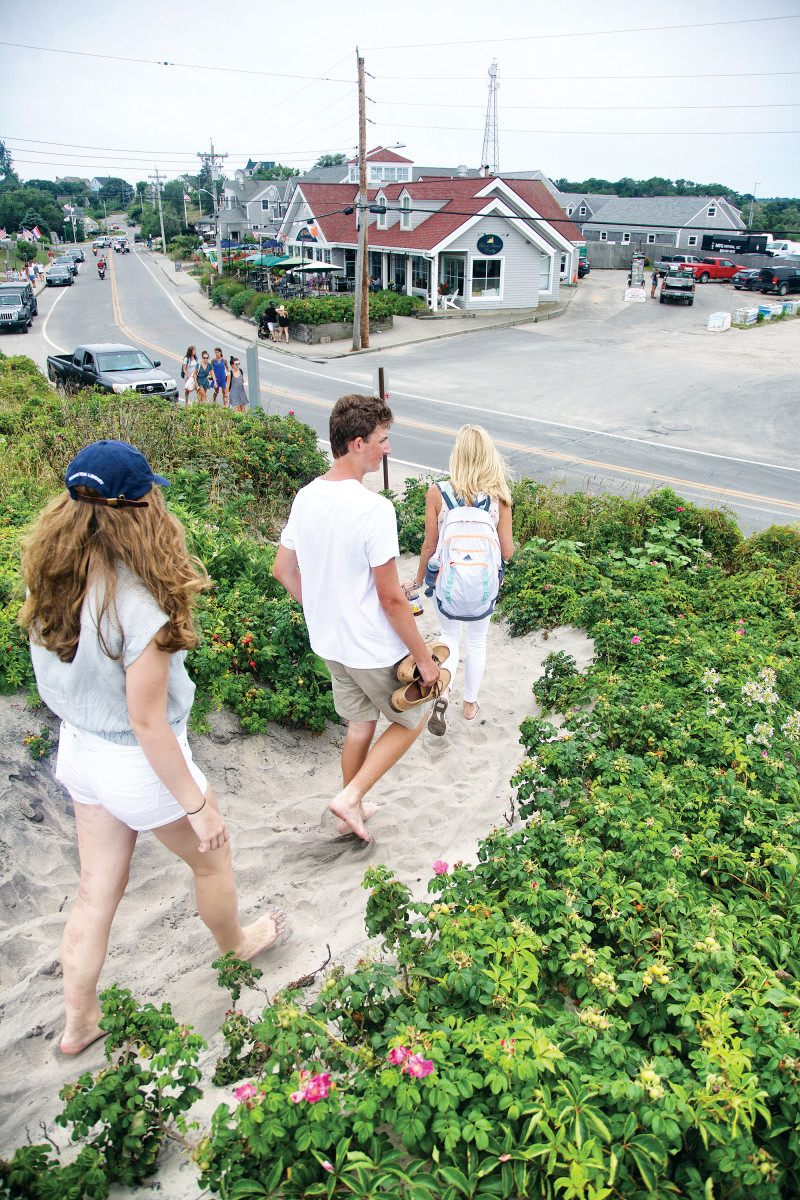 The village of Old Harbor is as family friendly as a cruising destination can get.