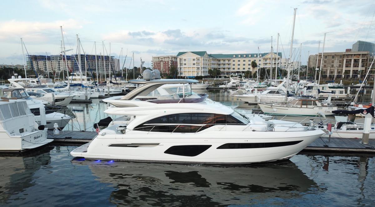 princess-yachts-62-cruising-south