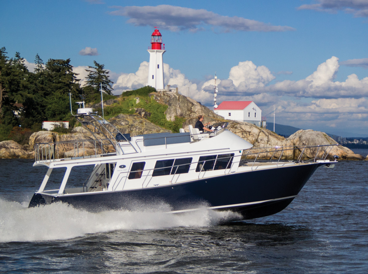 Canadian firm Coastal Craft builds exclusively in welded aluminum.