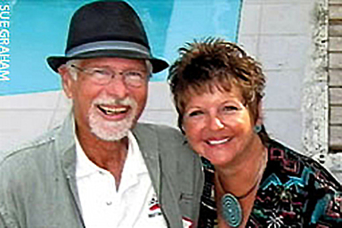 David and Karen Trauger, shown in happier times, were married on New Years Eve in 2009
