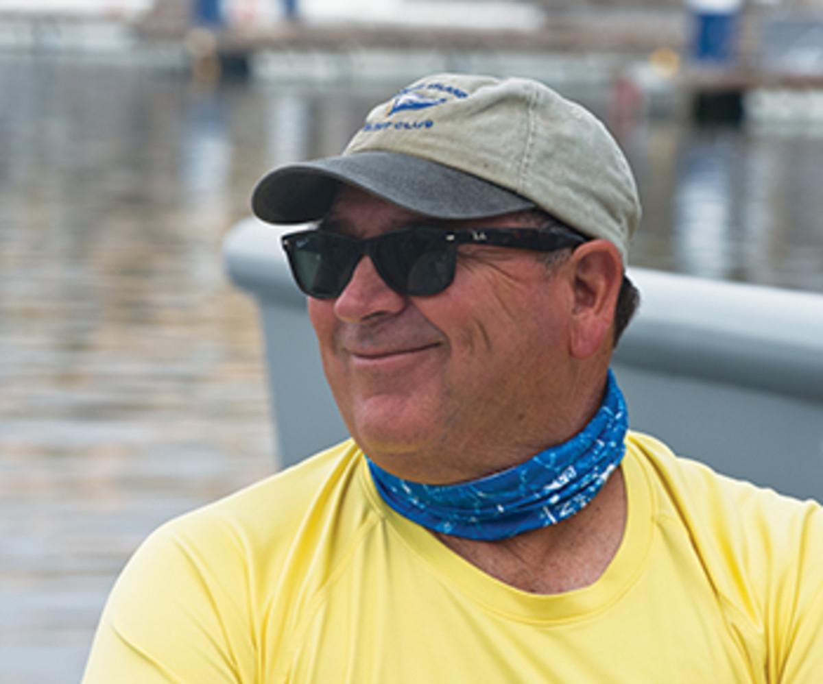 Capt. Carlos Garcia of Texas.