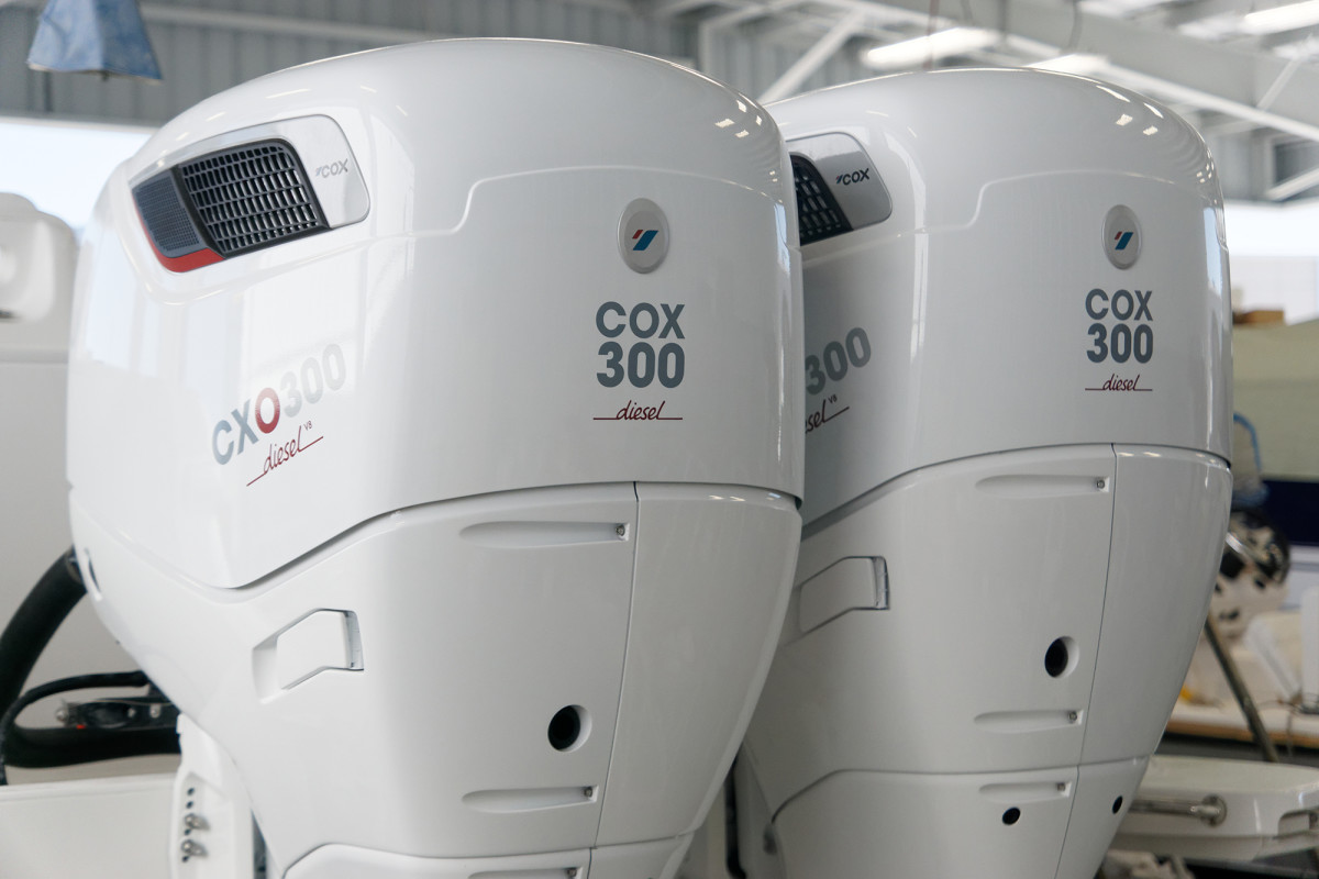 Cox diesel outboards
