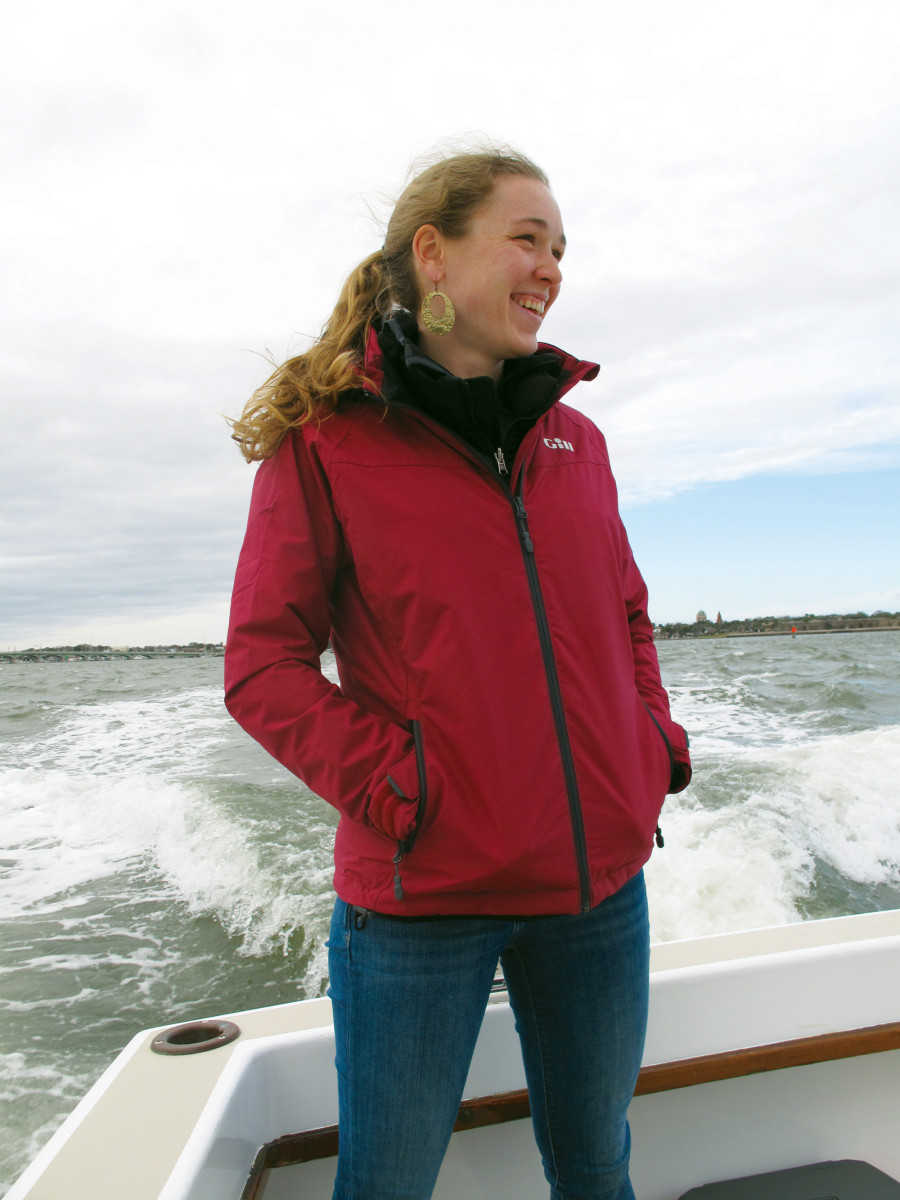 The author sporting the Gill Pilot Jacket