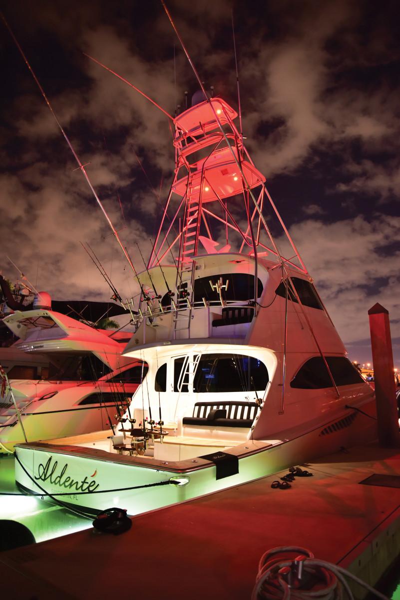 Emeril's 70-foot Viking, Aldente