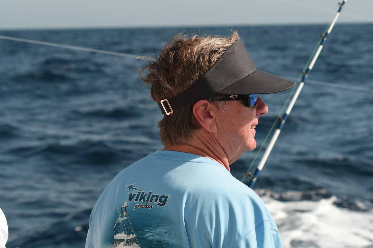 Since he was a boy, fishing has been a driving force in the life of Pat Healey, the head of Viking Yachts.