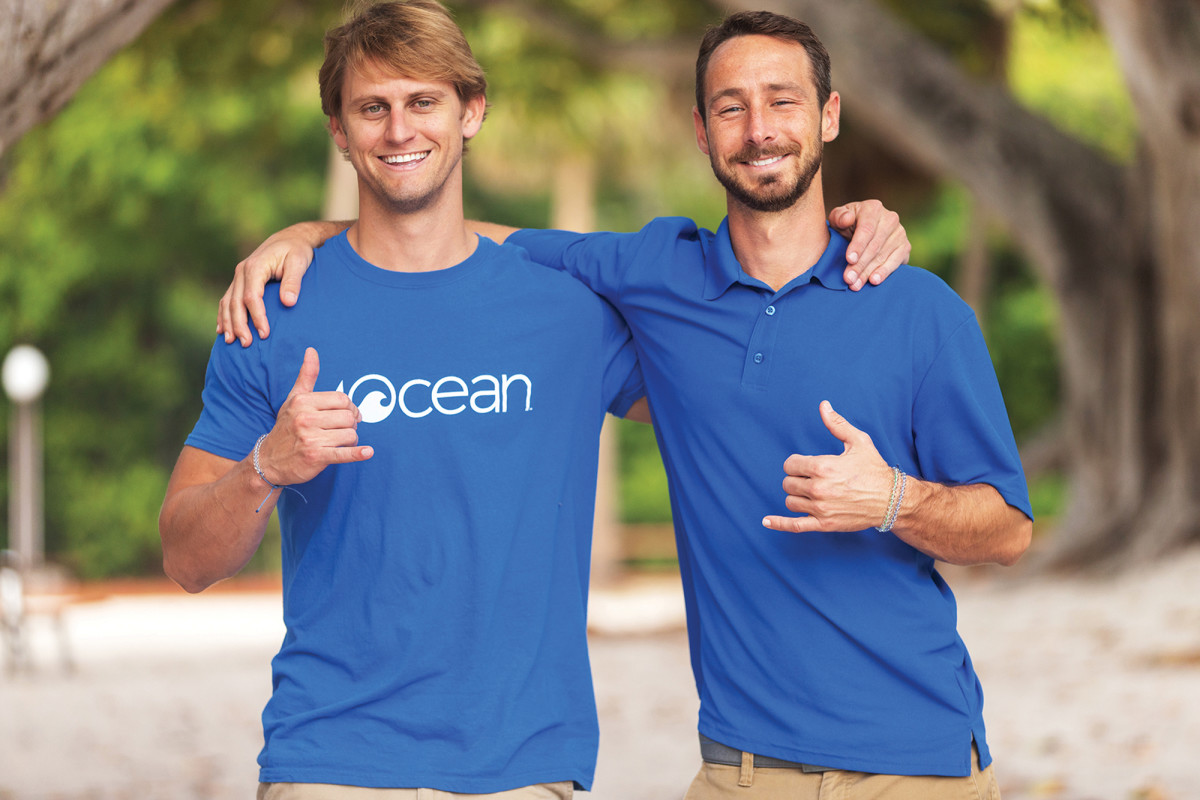 """On a trip to Bali, 4ocean founders Alex Schulze and Andrew Cooper came across """"trash-filled waves delivering more garbage with each break."""""""