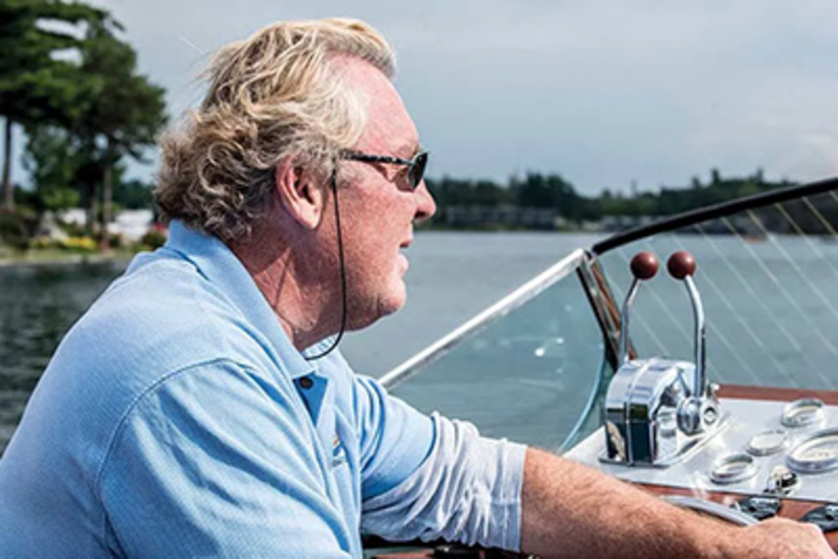 Peter Mellon, founder of Antique Boat America