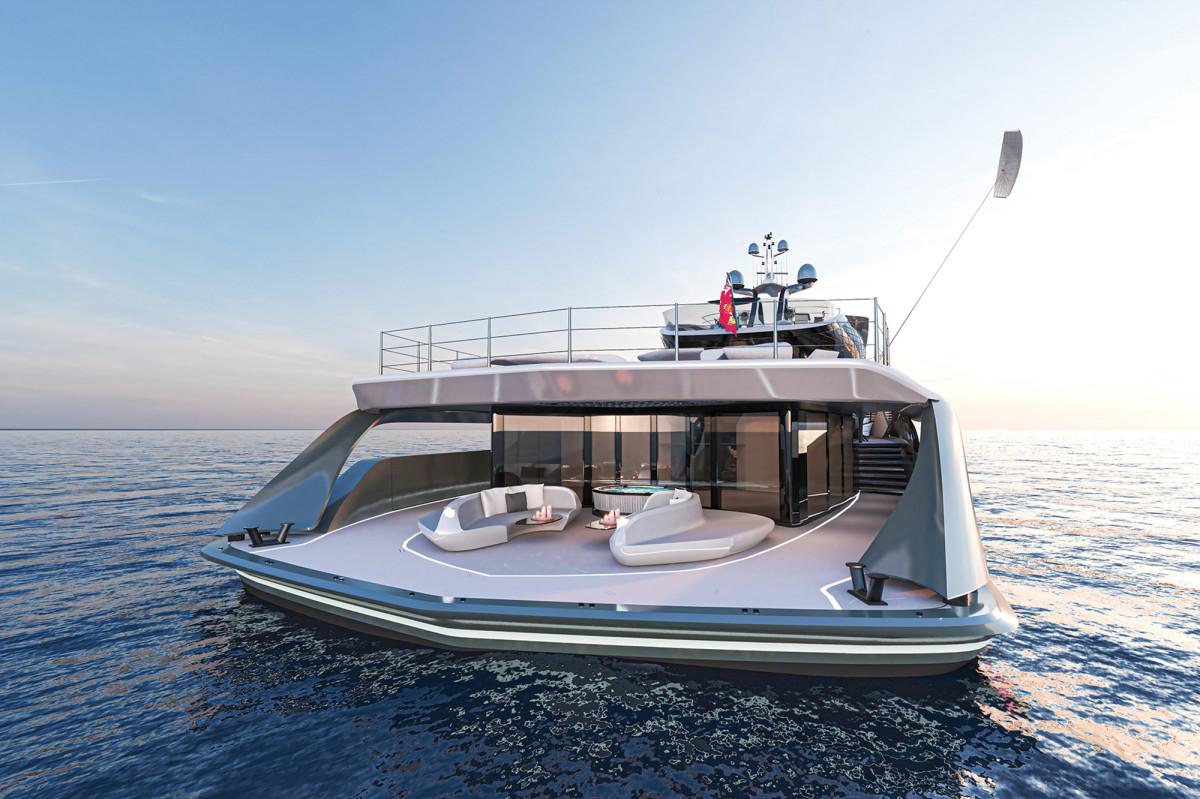 Futura-a 216-foot concept yacht